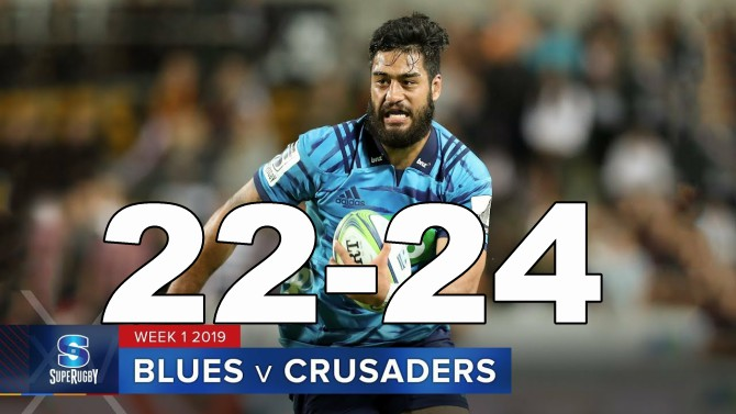 Highlights Round 1 Super Rugby Blues v Crusaders 2019