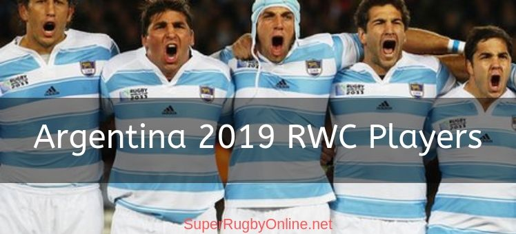 Argentina 2019 RWC Players