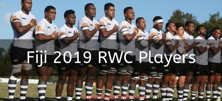 Fiji 2019 RWC Players