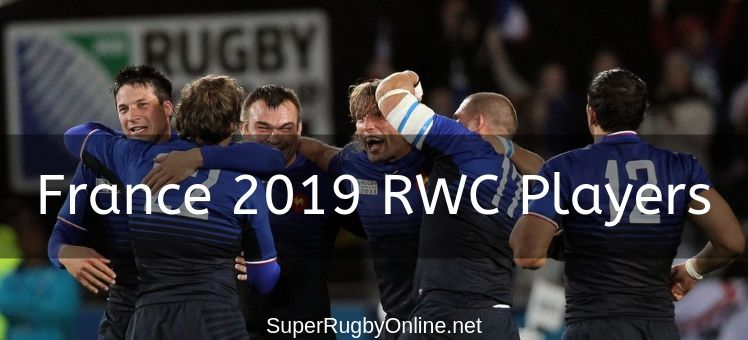 France 2019 RWC Players
