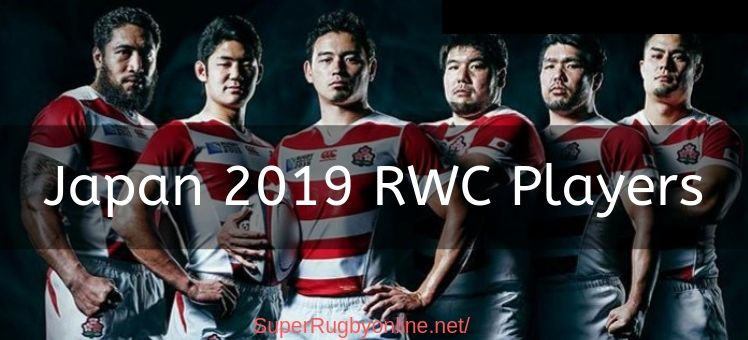 Japan 2019 RWC Players