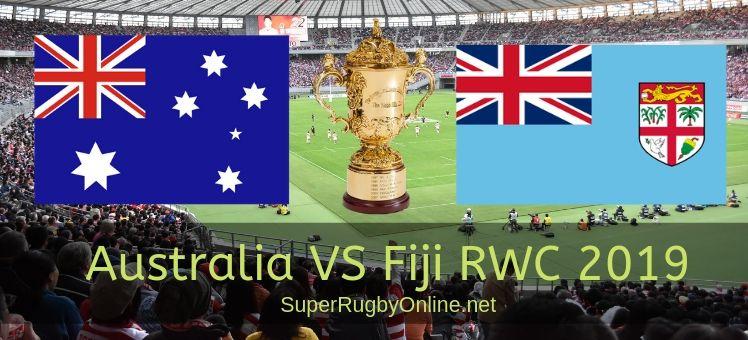 Fiji VS Australia RWC 2019 live