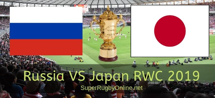 Russia VS Japan RWC 2019 Live Stream