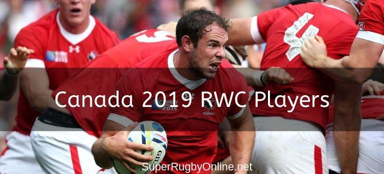 Canada 2019 RWC Players