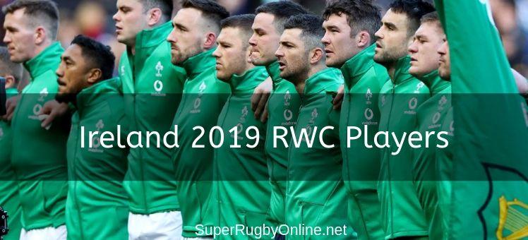 Ireland 2019 RWC Players