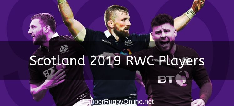 Scotland 2019 RWC Players