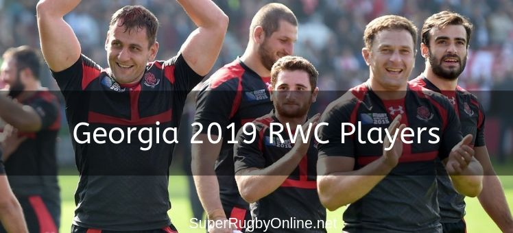 Georgia 2019 Rwc Players