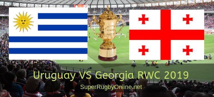Uruguay VS Georgia RWC 2019 Live Stream
