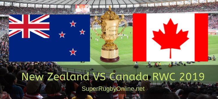 Canada Vs New Zealand RWC 2019 Live Stream