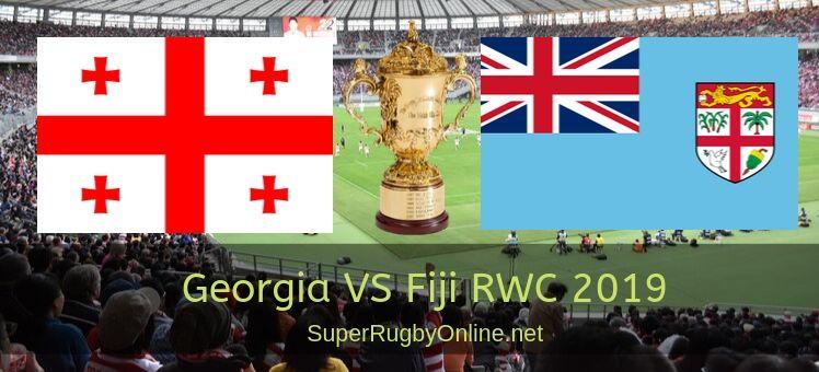 Fiji VS Georgia RWC 2019 Live Stream