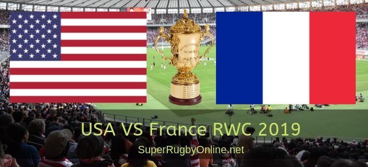 United States VS France RWC 2019 Live Stream