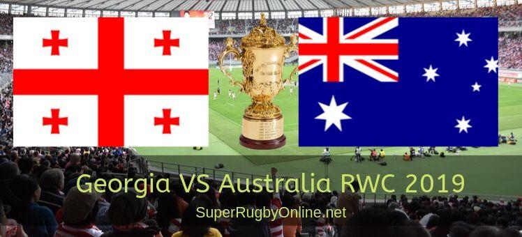 Georgia VS Australia RWC 2019 Live Stream