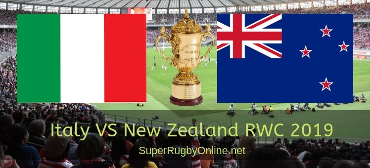 Italy VS All Blacks RWC 2019 Live Stream
