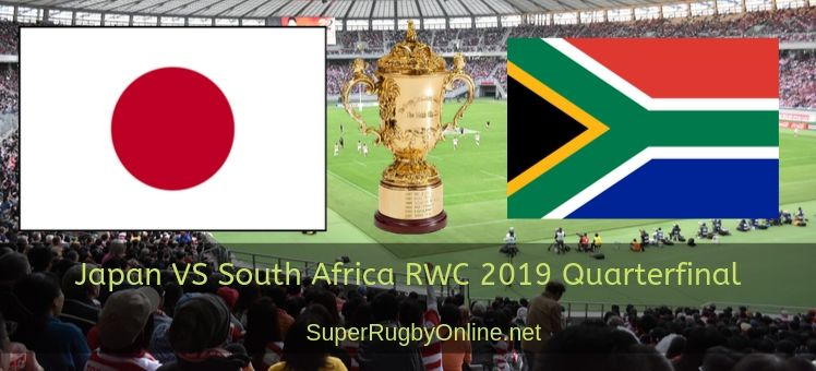 Japan VS South Africa RWC 2019 Quarterfinal Live stream