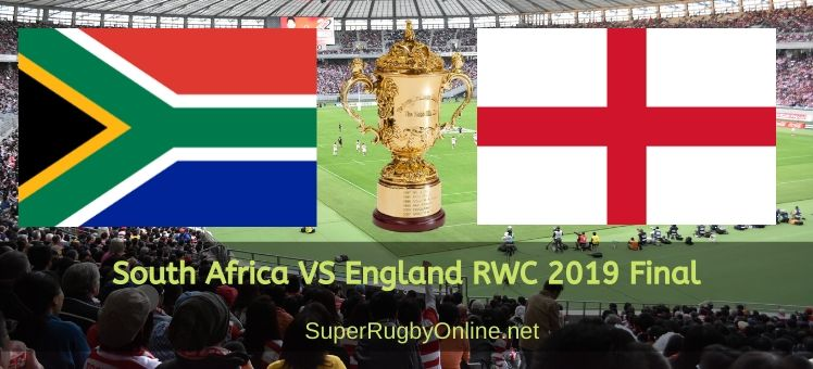 England Vs South Africa RWC 2019 Final Live Stream