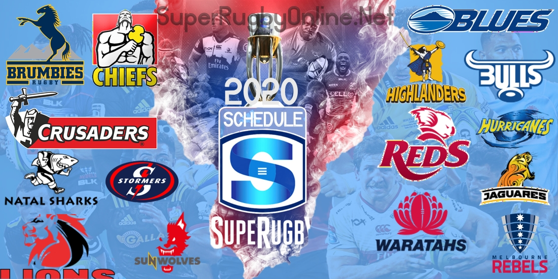 Super Rugby 2020 Schedule Date Venue TV Channel and Live Stream
