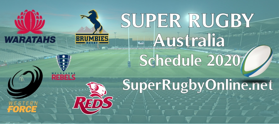 Super Rugby AU 2020 How To Watch Live Stream