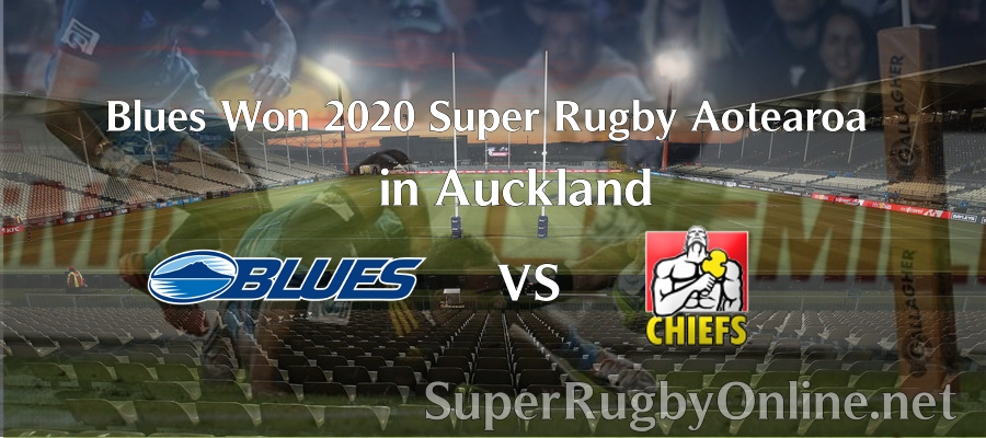 Blues Won the Super Rugby Aotearoa 2020 Match in Auckland