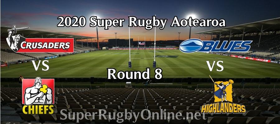 Round 8 Super Rugby Aotearoa 2020