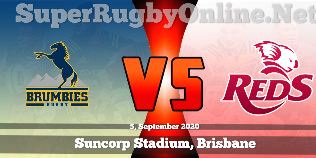 Brumbies vs Reds 2018 Rugby Live Stream