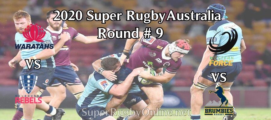 Round 9 Super Rugby AU 2020