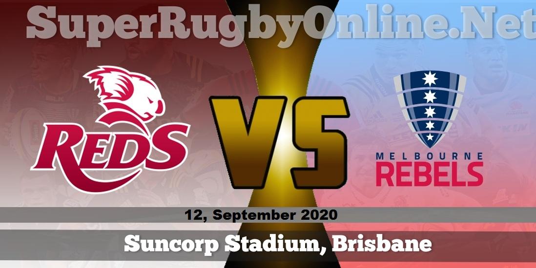 Queensland Reds vs Melbourne Rebels Rugby Live
