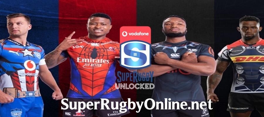 Super Rugby Unlocked Schedule 2020