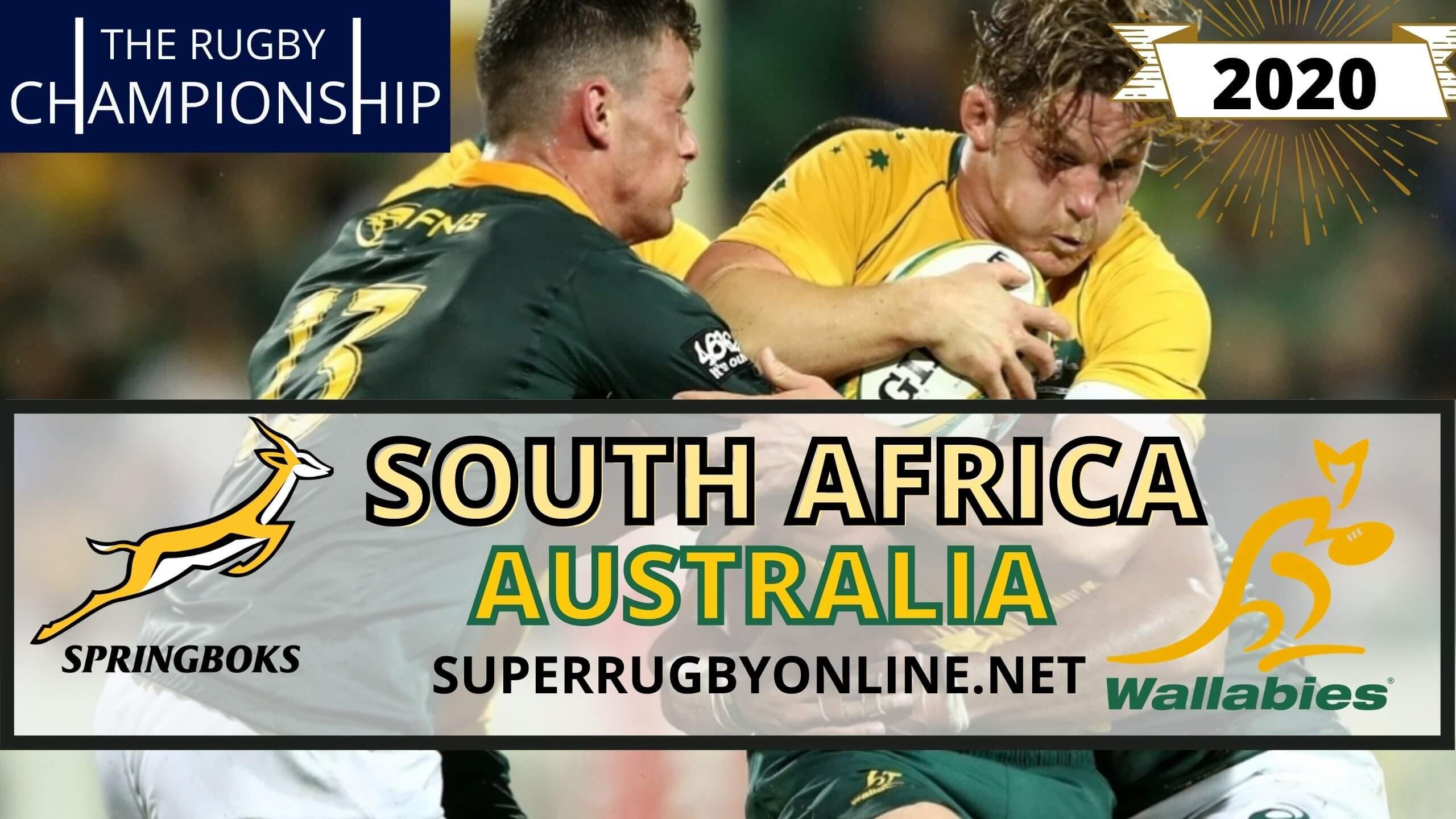 Rugby Australia vs South Africa Live Stream