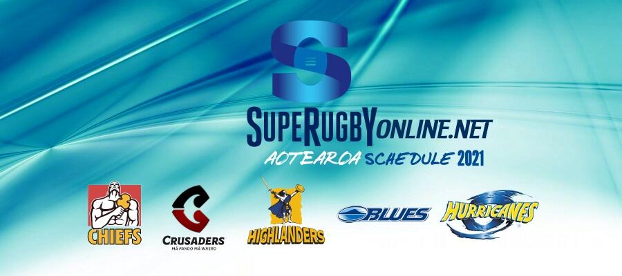 Super Rugby Aotearoa Schedule 2021 Announced