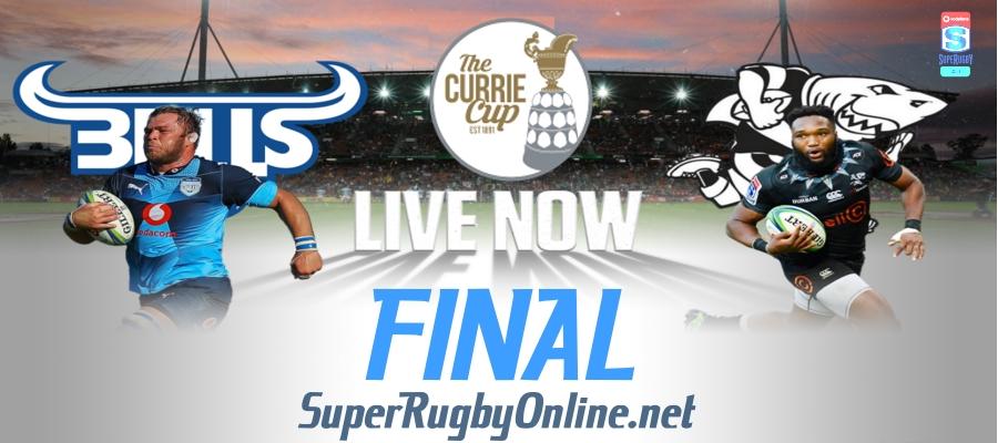 Watch Sharks VS Bulls Currie Cup Final Live