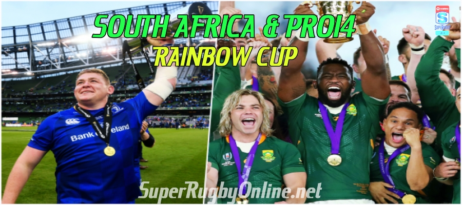 South African Team Play In The Pro14 Rainbow Cup 2021