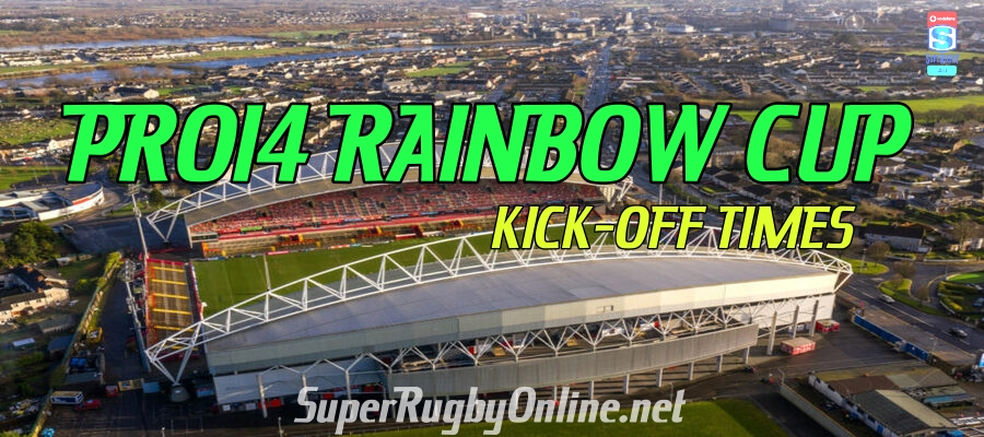 Rainbow Cup Pro14 Fixtures 2021 Times Dates Confirmed