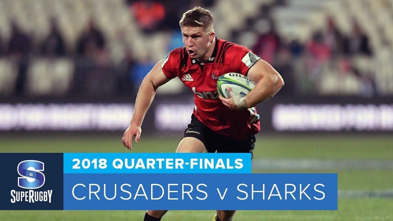 quarterfinal-sharks-vs-crusaders-2018-highlights
