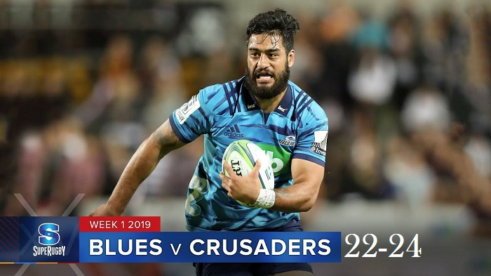 Highlights Round 1 Super Rugby Blues VS Crusaders 2019
