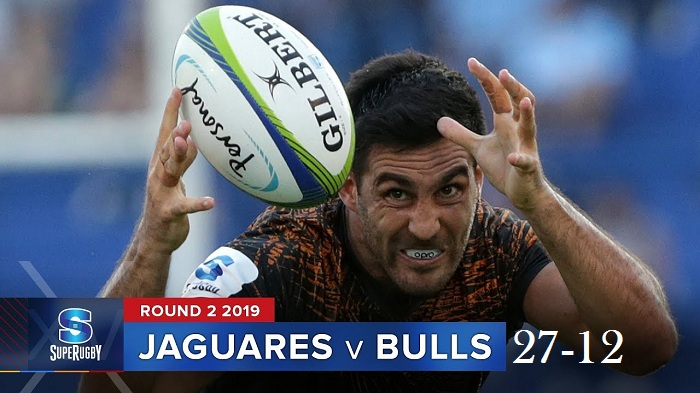 Highlights Round 2 Super Rugby Bulls VS Jaguares 2019