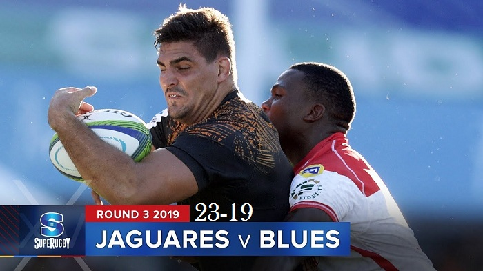 Highlights Round 3 Super Rugby Blues VS Jaguares 2019