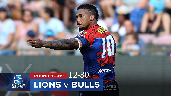 Highlights Round 3 Super Rugby Bulls VS Lions 2019