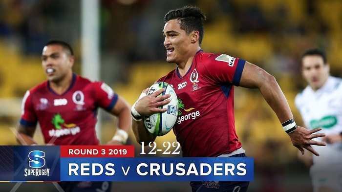 Highlights Round 3 Super Rugby Crusaders VS Reds 2019