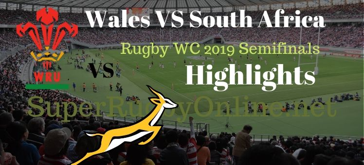 South Africa VS Wales RWC 2019 Semifinal Highlights