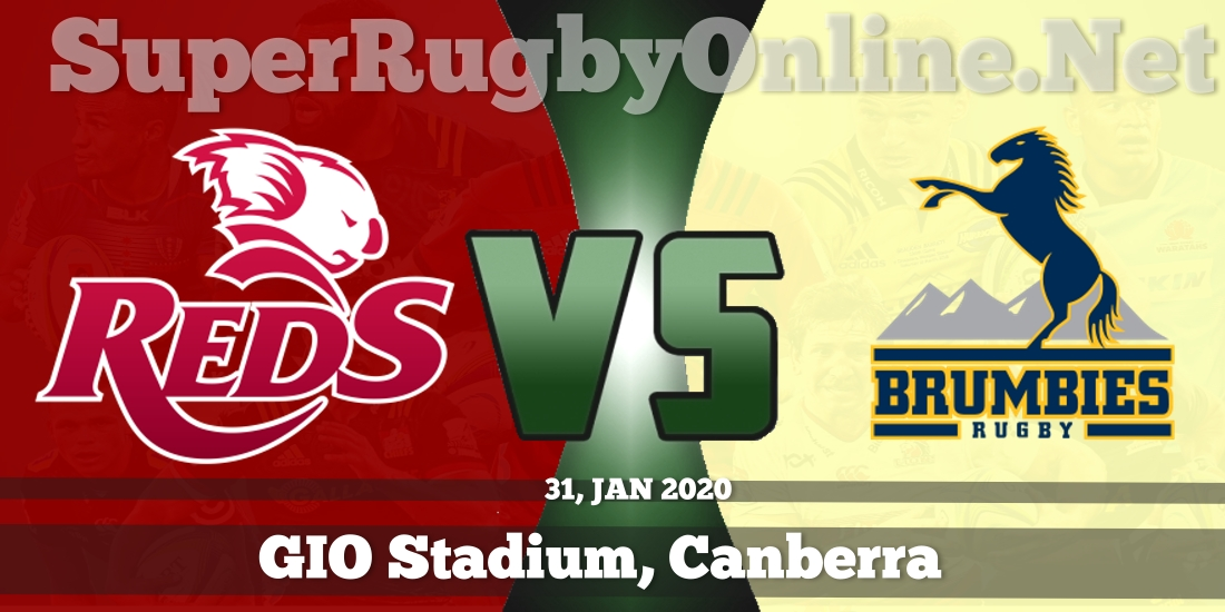 Reds VS Brumbies Live Stream 2020 | Rd 1 | Full Match Replay