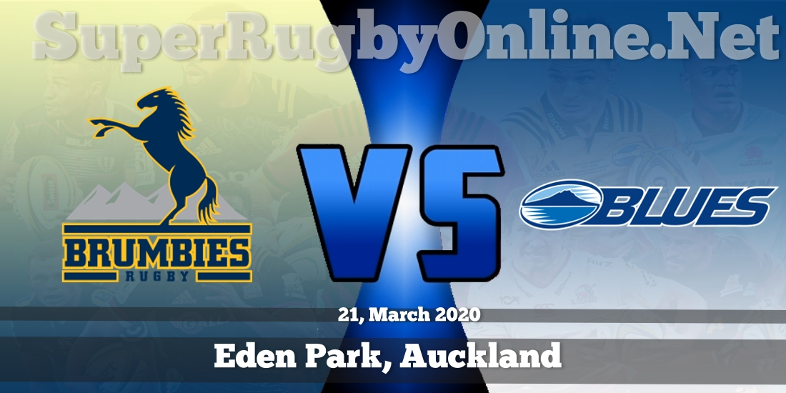 Brumbies VS Blues Live Stream 2020 | Rd 8 | Full Match Replay