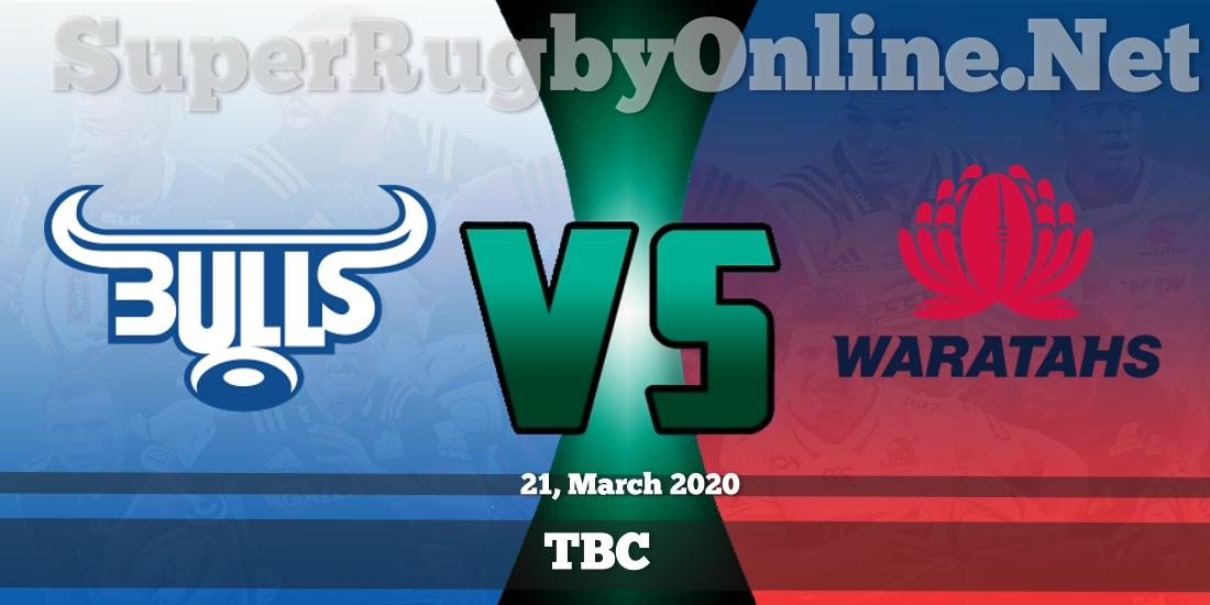 Bulls VS Waratahs Live Stream 2020 | Rd 8 | Full Match Replay