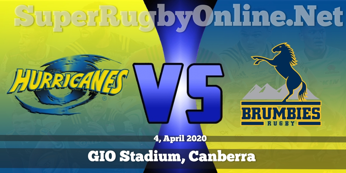 Hurricanes VS Brumbies Live Stream 2020 | Rd 10 | Full Match Replay
