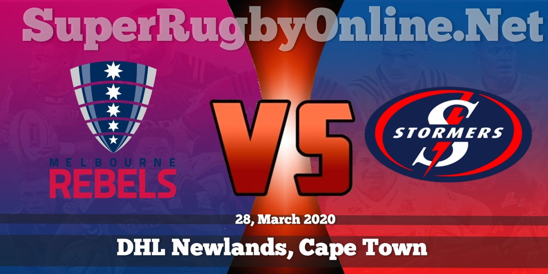 Rebels VS Stormers Live Stream 2020 | Rd 9 | Full Match Replay