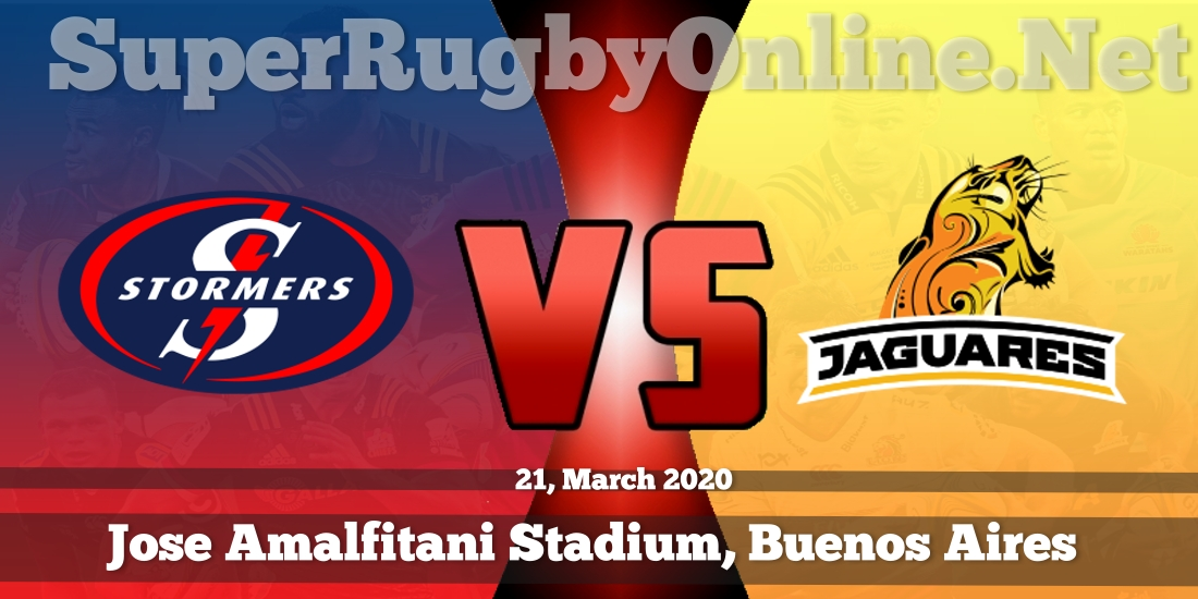 Stormers VS Jaguares Live Stream 2020 | Rd 8 | Full Match Replay