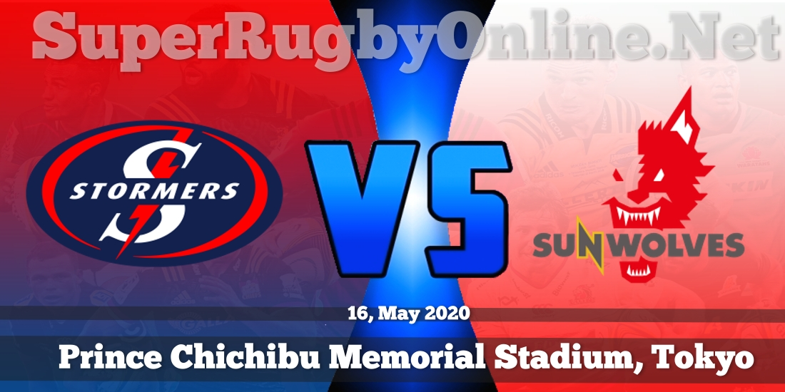 Stormers VS Sunwolves Live Stream 2020 | Rd 16 | Full Match Replay