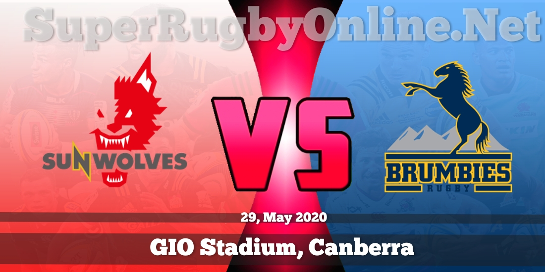 Sunwolves VS Brumbies Live Stream 2020 | Rd 18 | Full Match Replay