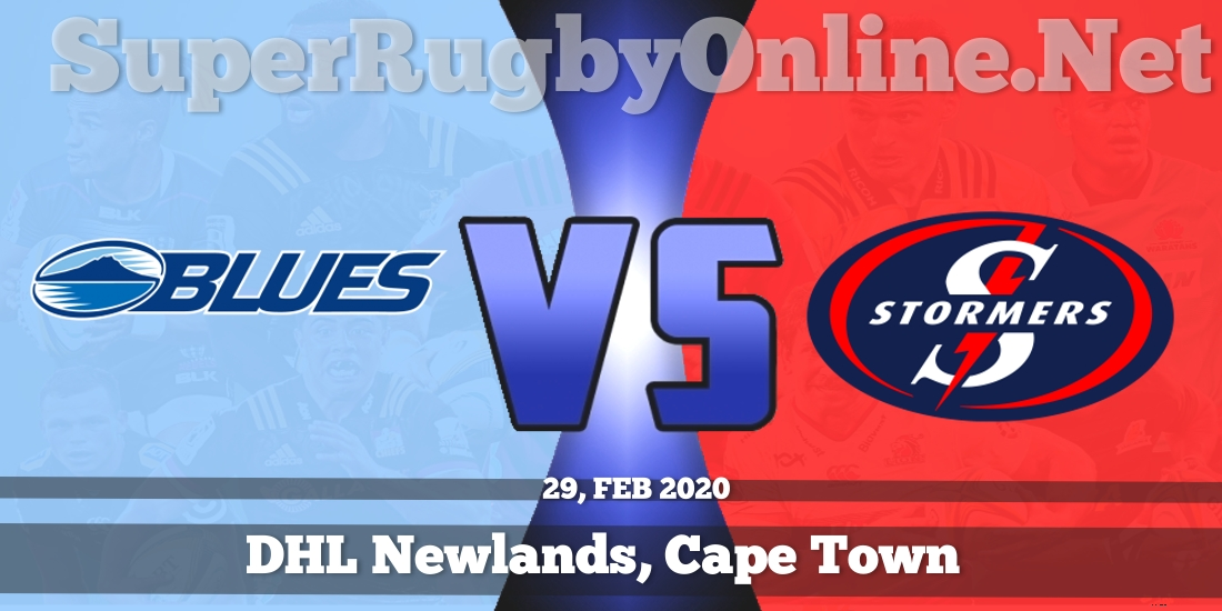 Blues VS Stormers Live Stream 2020 | Rd 5 | Full Match Replay