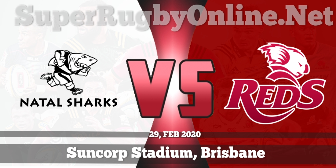 Sharks VS Reds Live Stream 2020 | Rd 5 | Full Match Replay