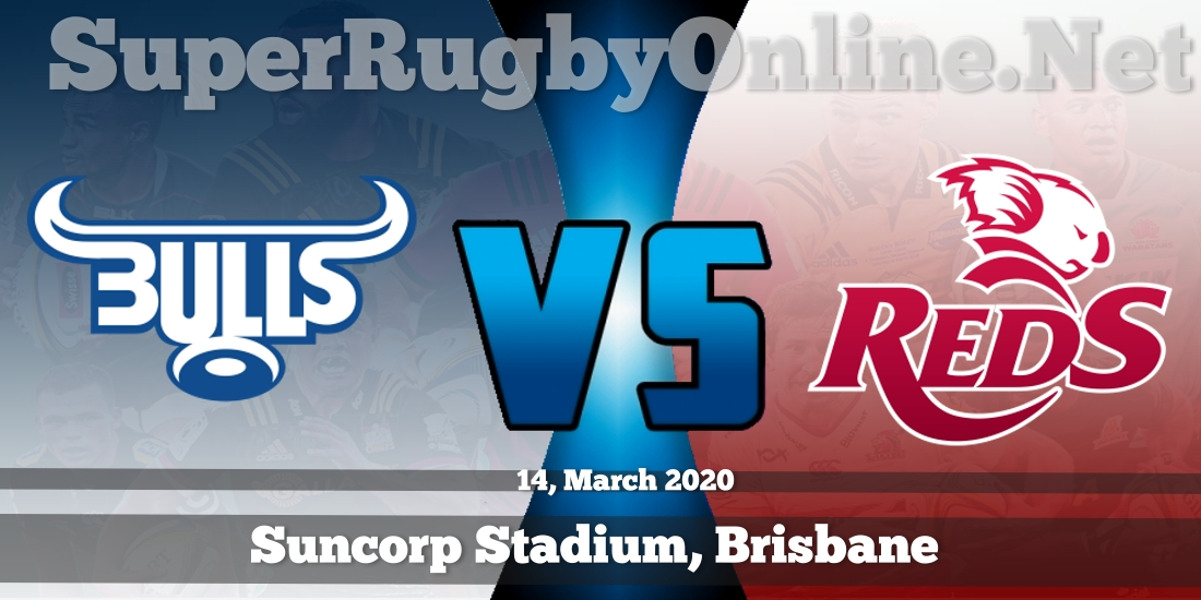 Bulls VS Reds Live Stream 2020 | Rd 7 | Full Match Replay